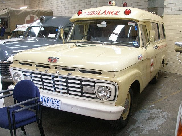 Victorian Ambulance Service (Australia) - Ford Ambulance