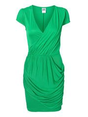 JULEY S/S SHORT DRESS, Bright Green, list
