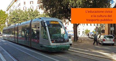 Roma (e non solo!) L'educazione civica e la cultura del trasporto pubblico Sosta selvaggia! L'altro ieri un tram a Roma è rimasto bloccato per circa 3 ore a causa di una macchina parcheggiata sui binari - Ad una situazione del genere si può ovviare o in maniera drastica, op
