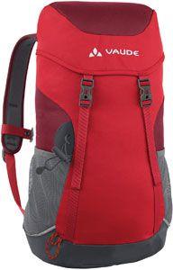 Vaude Puck 14 daypack voor kinderen rood
