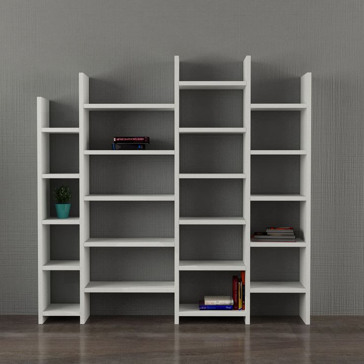 Decortie Salita Bookcase White