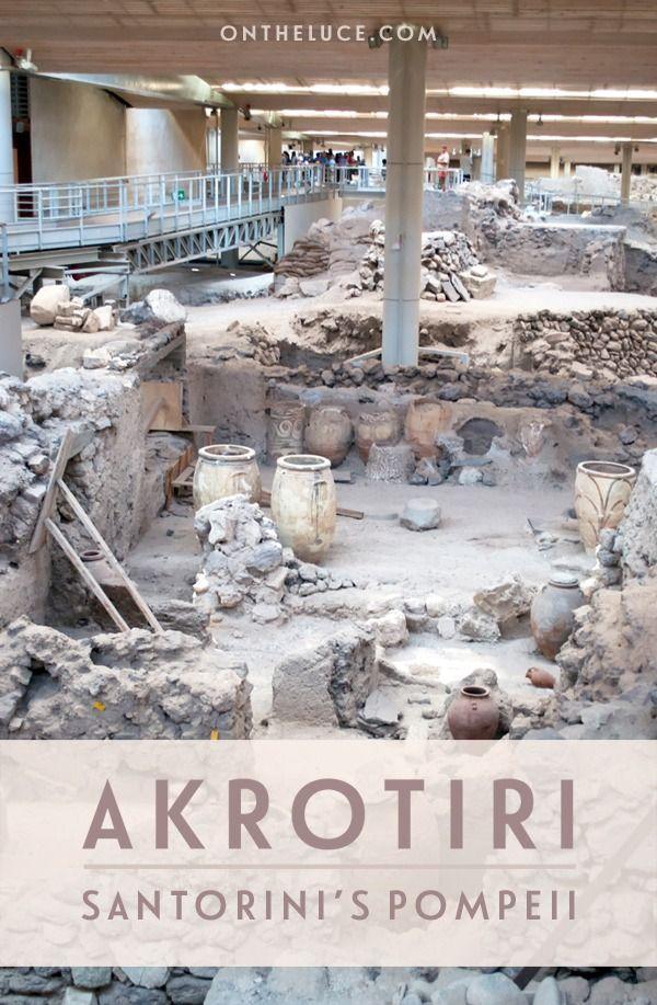The ancient city of Akrotiri: Santorini's Pompeii – On the Luce travel blog