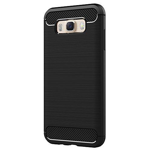 Oferta: 7.99€ Dto: -60%. Comprar Ofertas de Funda Samsung Galaxy J7 2016, AICEK Protector Samsung J7 J710F/J710FN Funda Negro Gel de Silicona Galaxy J7 Carcasa Fibra de  barato. ¡Mira las ofertas!