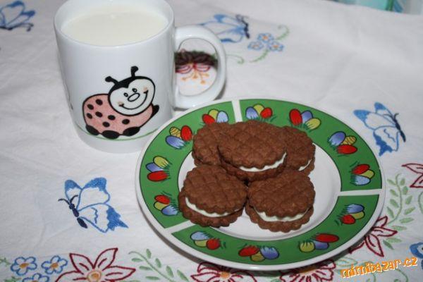 Sušenky á la OREO - S POSTUPEM