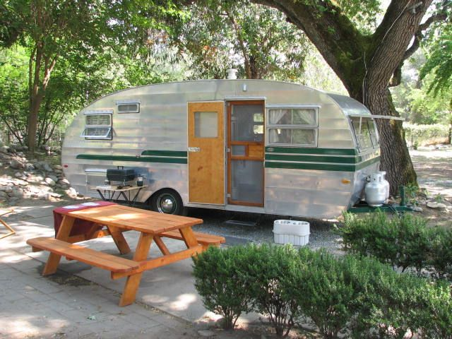 17 Best Images About Our Vintage Travel Trailer On