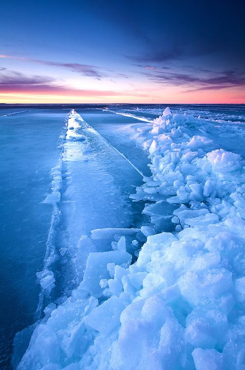 Beautiful ice