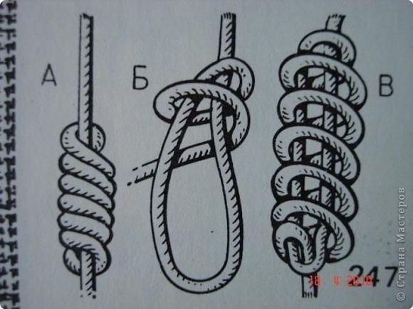 13.узел сережка