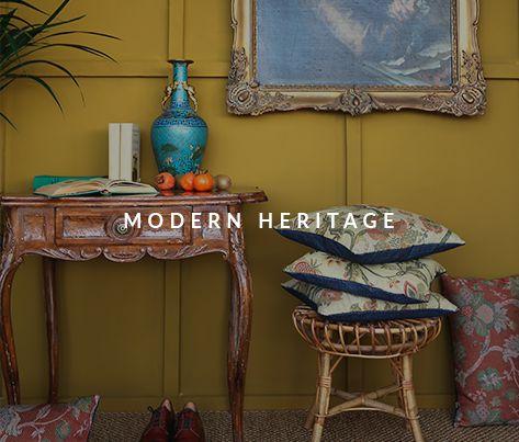 Schulze London interior design. #london #schulzelondon #modern #heritage #antique #fauxbamboo #gold #panelframe