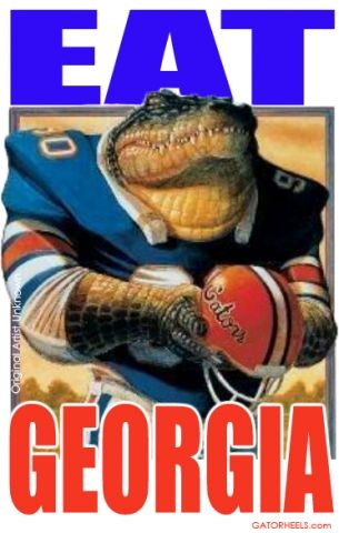 Gator Heels - Florida Heels - Georgia