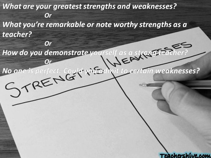 What Are Your Greatest Strengths And Weaknesses? Or What Youu0027re Remarkable  Or Note. Interview QuestionsInterview ...