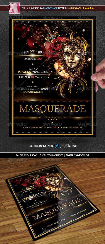 Masquerade Poster/Flyer