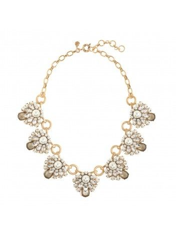 J Crew Stacked Pearls Necklace $75
