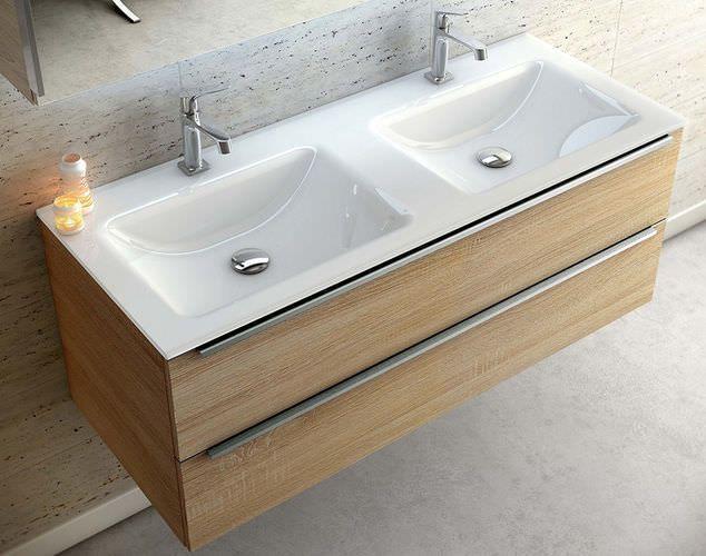 Bathroom Decor Countertop Doppelwaschbecken Aufsatz Waschtisch