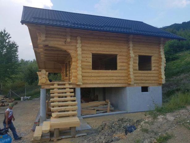 Cabane Case Din Lemn Rotund Patrat Bustean Vama Olx Ro Home Decor House Styles House