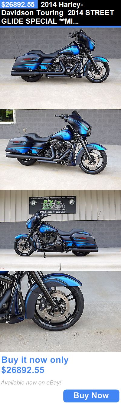 Motorcycles: 2014 Harley-Davidson Touring 2014 Street Glide Special **Mint** $15K In Xtras! 1 Of A Kind!! Cvo Killer!! BUY IT NOW ONLY: $26892.55