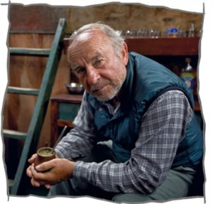 Yvon Chouinard ----> climber, surfer, blacksmith, founder of Patagonia clothing -- and a wonderful human being