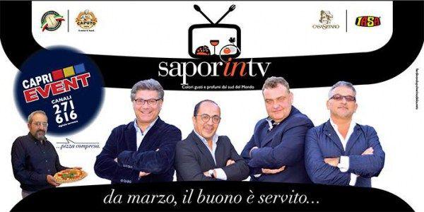 SAPORINTV, un programma di Roberto Esse in arrivo su SU CAPRIEVENT