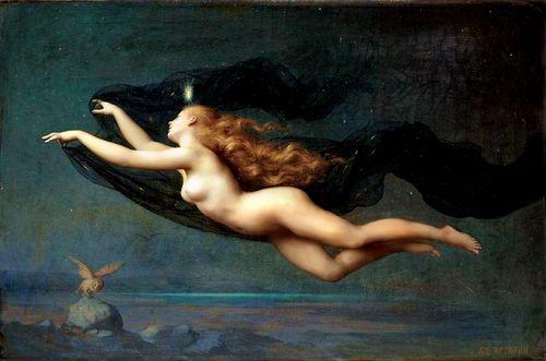 La Nuit, 1887. Auguste Raynaud
