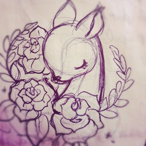kawaii-factory: Oh my deer (Tomada con instagram)