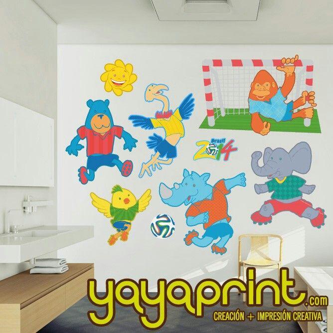 200 best images about vinilos pared decoraci n yayaprint - Vinilos infantiles madrid ...