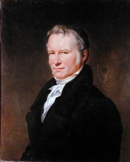 Henri Lehmann ~ (1814-1882) ~ Baron Alexander von Humboldt (1769-1859)