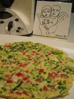 Thermomixer: Frittata in the Varoma