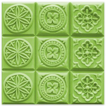 Bulk Apothecary stocks hundreds of plastic and silicone soap molds like Tray-Brocades 2 Soap Mold Mold at the best prices on the web.