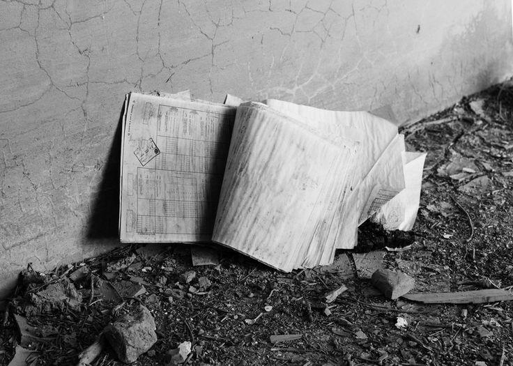 Notebook #abandoned #train #station #estación #tren #abandonada #cuevasdevelasco #cuenca #spain