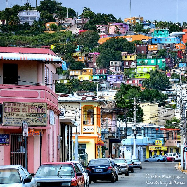 Colorful Yauco Town ~ Yauco, Puerto Rico ~ (By ICTUS Photography, via Flickr