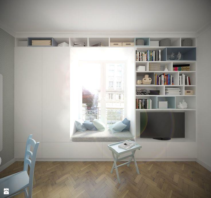 Salon styl Minimalistyczny - zdjęcie od Studio Monocco - Salon - Styl…