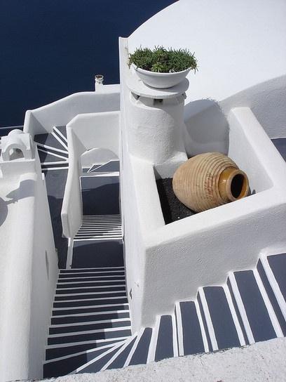 Santorini steps