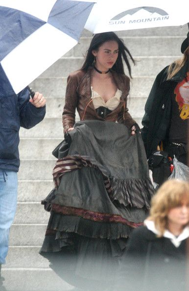 "Megan Fox Photo - Megan Fox and Josh Brolin Film ""Jonah Hex"""