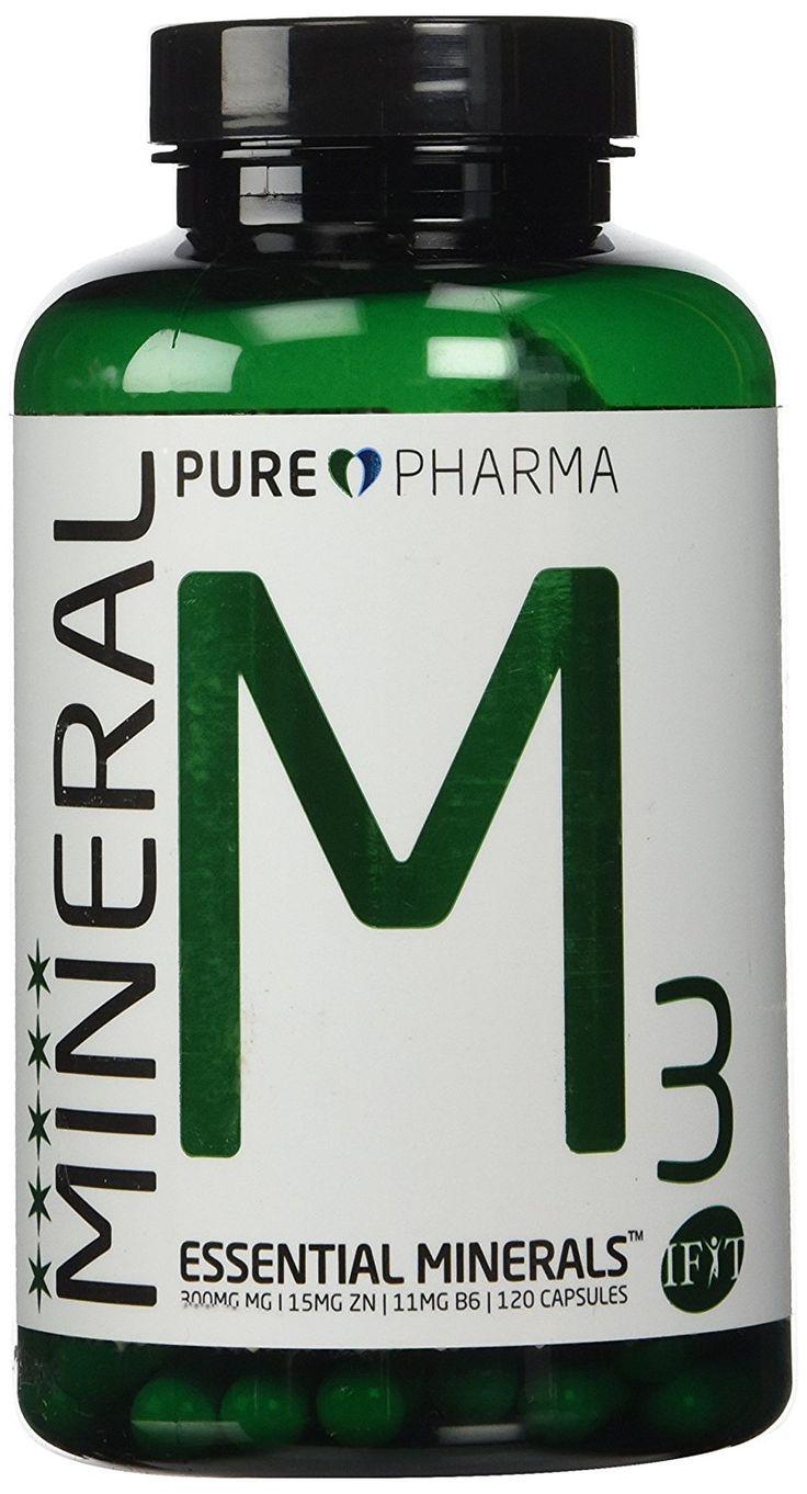 Gegen Morgenübelkeit 300MG Magnesium - 15MG Zink - 11MG B6 - 120 Kapseln - Pure Pharma