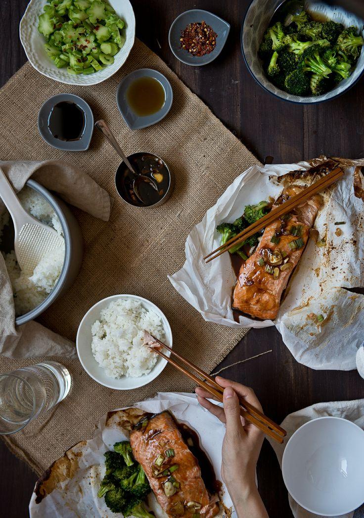 salmon en papillote, for Verily Magazine | http://tworedbowls.com