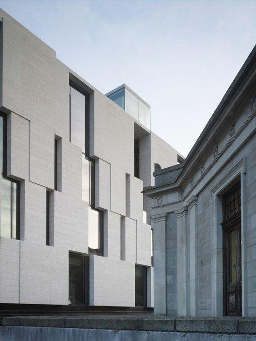 Galer a de trinity long room hub mccullough mulvin - Alzado arquitectura ...