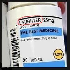To laugh more
