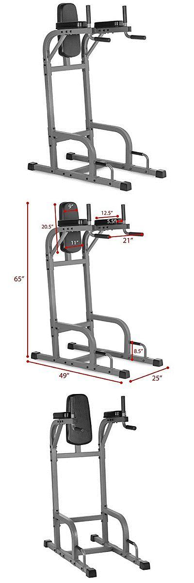 Push Up Stands 158925: Fits-Xm44371-Xmark Vertical Knee Raise With Dip Station Xm-4437.1 -> BUY IT NOW ONLY: $218 on eBay!
