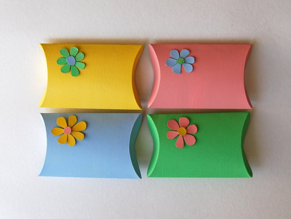 46 best easter upcycling ideas images on pinterest easter upcycle cookie boxes into pillow boxes for gifts negle Choice Image