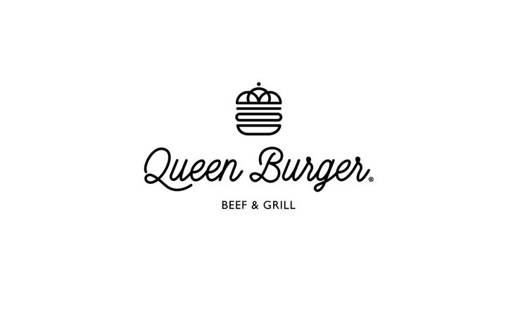 Queen Burger by Lange & Lange - 25 Creative Logo Designs