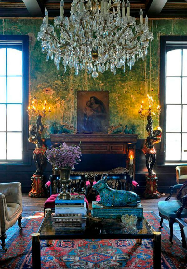 Barque Decor Living Room: 1826 Best Eclectic And Neo-Baroque Living Images On