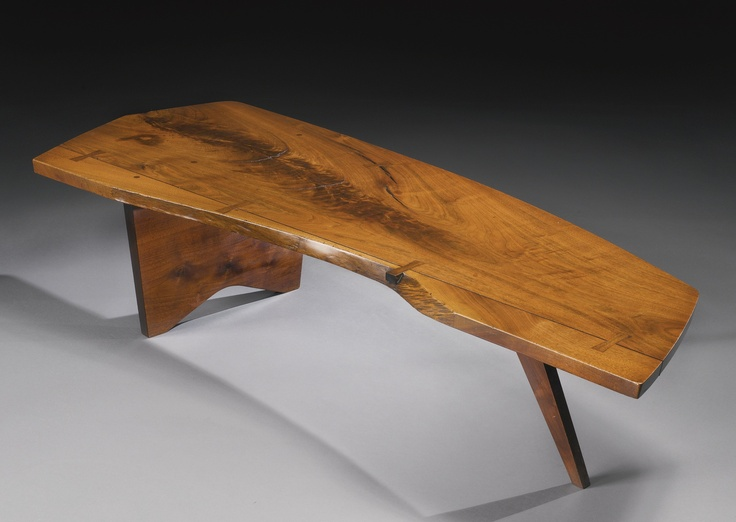 George Nakashima Quot Slab Quot Coffee Table 1956 Furniture