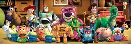 TOY STORY 3 - cast Poster / Kunst Poster
