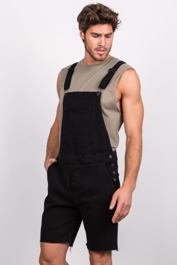 Bandit Short Overall Deep Black