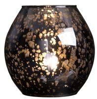Bordslampa Hanoi 18x18 cm Svart Glas - Bordslampor - Rusta
