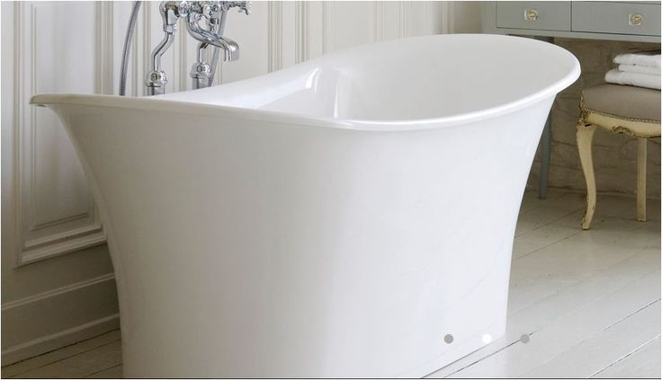 Toulouse Double Ended Free Standing Bateau Tub
