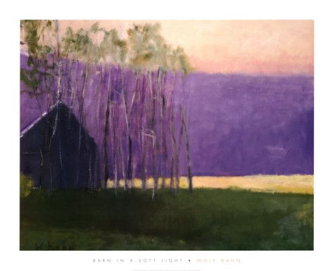 Barn in a Soft Light, 2002 Posters by Wolf Kahn at AllPosters.com