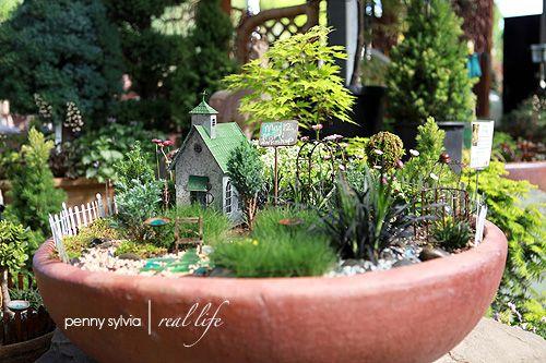 ... Jardin Aquatique : Jardin mini / fairy garden sur Pinterest Jardins