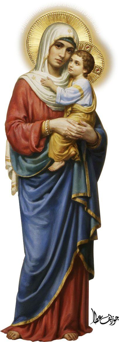 Mary - Jesus by joeatta78 on DeviantArt