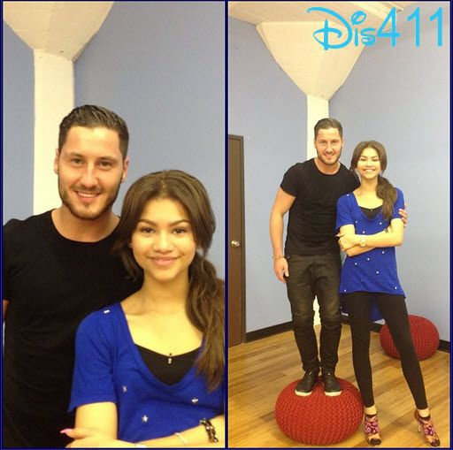 """Dancing With The Stars"" Photo: Zendaya And Val Chmerkovskiy March 20, 2013"