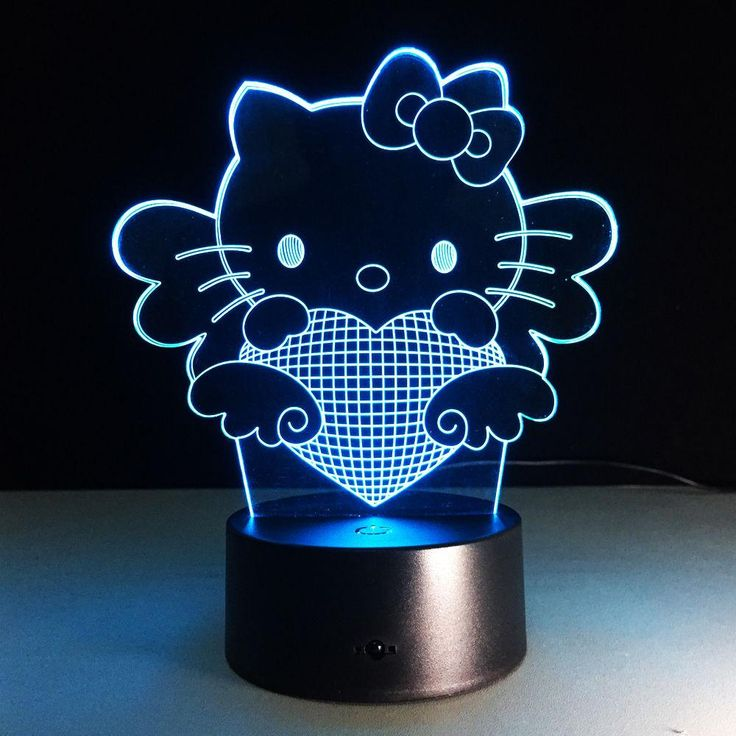 Cute Kitty Cat 3D Bulbing Light LED Mood Night Lamp Desk Light for Kitty fan. Cute Kitty Cat 3D Bulbing Light LED Mood Lamp Cute Kitty Cat 3D Bulbing Light LED Mood Night Lamp USB Desk Light for Kitty Fans Baby Room Night Sleeping Light  Hello Kitty Touch Color Change 3D LED Night Light RGB Changeable Mood Lamp  USB Decorative Table Lamp   We using 3D wire-frame images and transferring them onto 2D materials, to create functional and delicate design pieces that trick the eye!   • This is an…